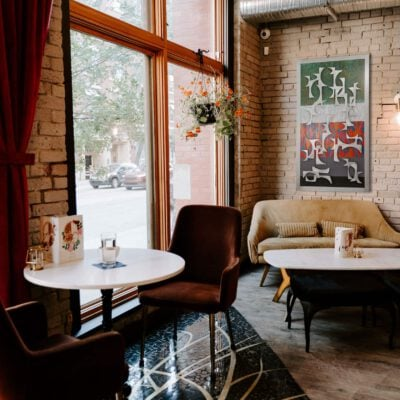 Swanky Chicago Cafe